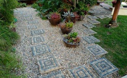 Дорожки для сада и огорода