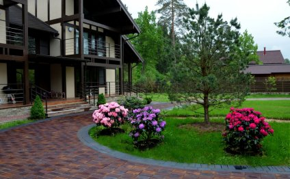 Ландшафтный дизайн загородного
